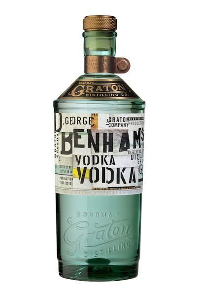 D. George Benhams Vodka