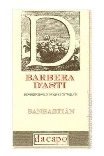 Dacapo Barbera d'Asti Sanbastian