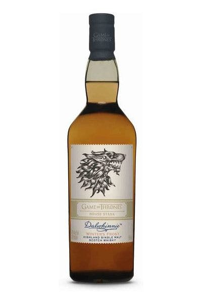 Dalwhinnie Game of Thrones House Stark Winter's Frost Highland Single Malt Scotch Whisky