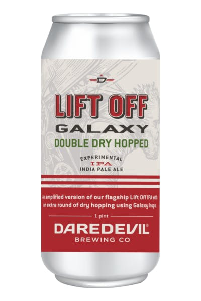 Daredevil Galaxy Double Dry Hopped Lift Off IPA