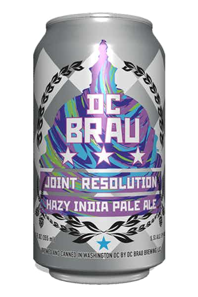 DC Brau Joint Resolution Hazy IPA