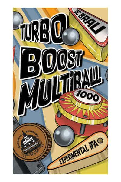DC Brau Turbo Boost Multiball Experimental IPA
