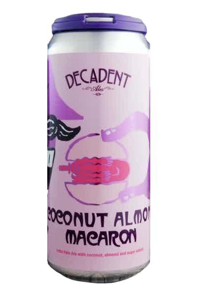 Decadent Ales Coconut Almond Macaron IPA