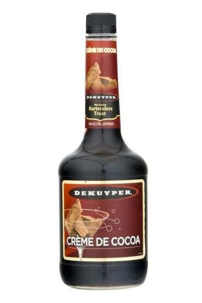 Dekuyper Crème de Cacao Dark Liqueur