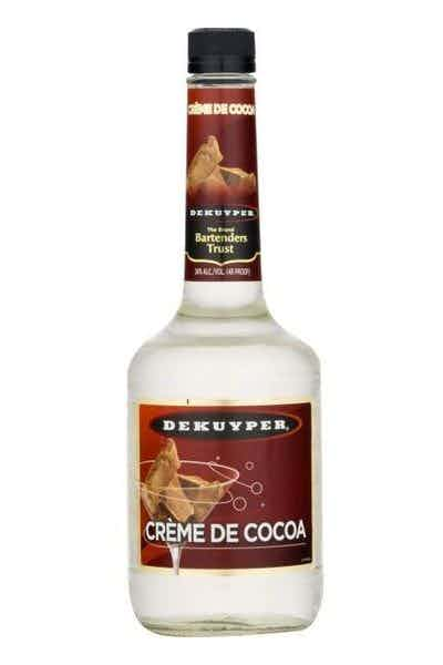 DeKuyper Creme De Cocoa White Liqueur
