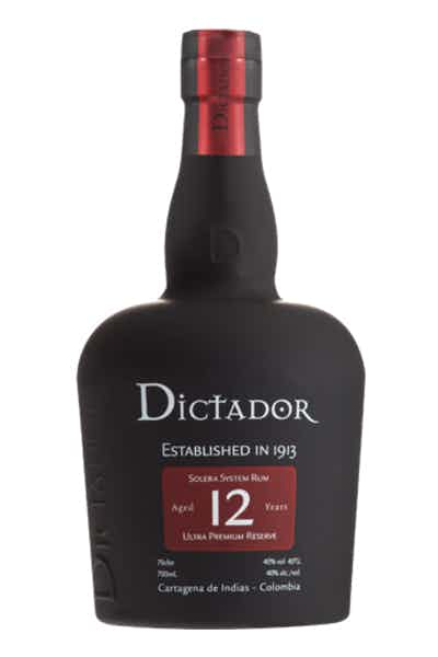 Dictador 12 Year Rum