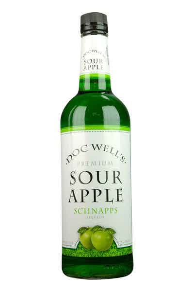 Doc Well's Sour Apple Schnapps