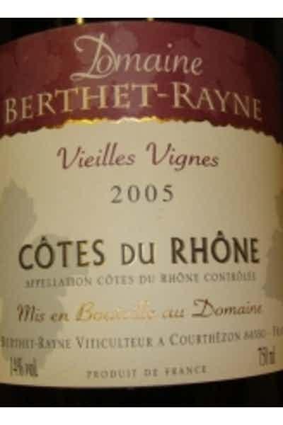 Domaine Berthet-Rayne Red Rhone