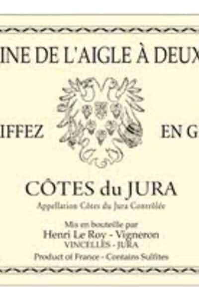 Domaine De L'aigle A Deux Tetes Cotes Du Jura Griffez 2011