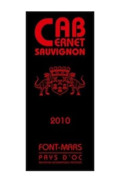 Domaine Font Mars Cabernet Sauvignon Vin de Pays d'Oc
