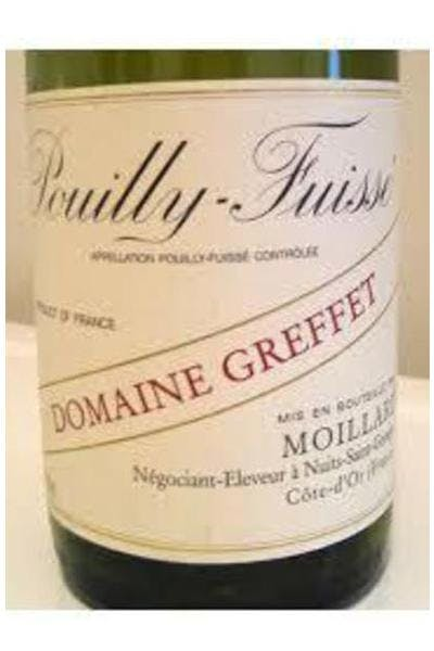 Domaine Greffet Pouilly-Fuisse