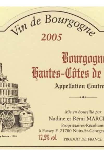 Domaine Marcillet Hautes-Cotes de Beaune Rouge