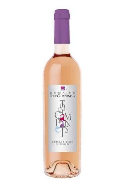 Domaine Tour Campanets Coteaux D'Aix En Provence Rosé