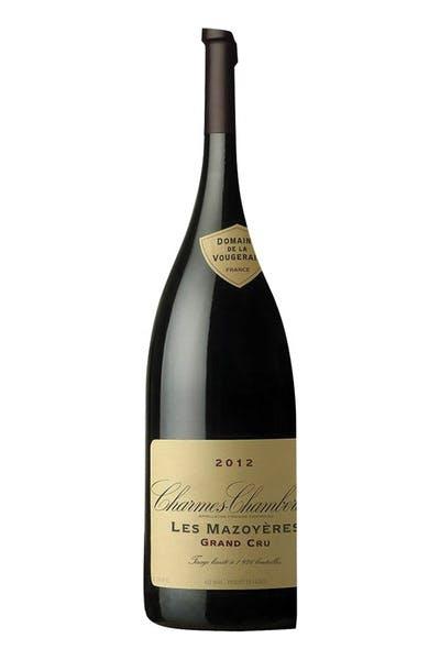 "Domaine Vougeraie Charmes Chambertin ""Les Mazoyeres"" Grand Cru"