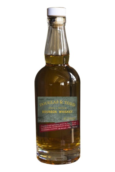 Douglas & Todd Small Batch Bourbon Whiskey