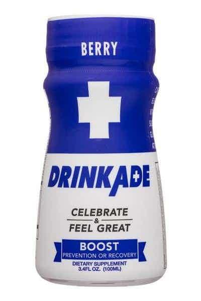 DrinkAde Boost Berry Hangover Prevention