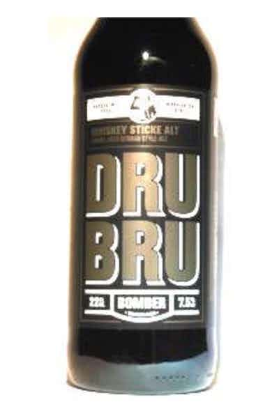 Dru Bru Whiskey Barrel Sticke Alt
