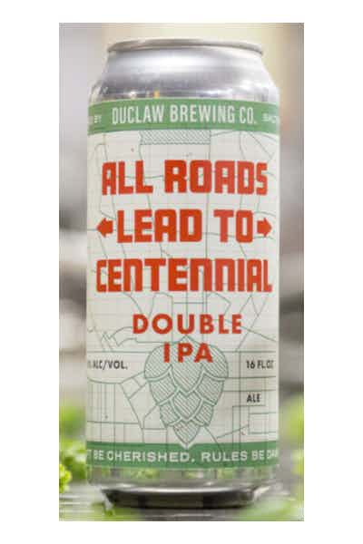 DuClaw All Roads Lead to Centennial Double IPA