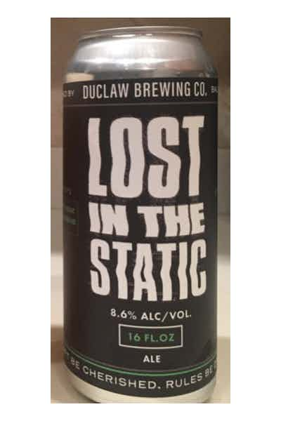 DuClaw Lost In The Static Double IPA