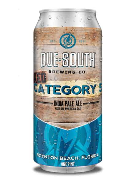 Due South Category 5 Oaked IPA