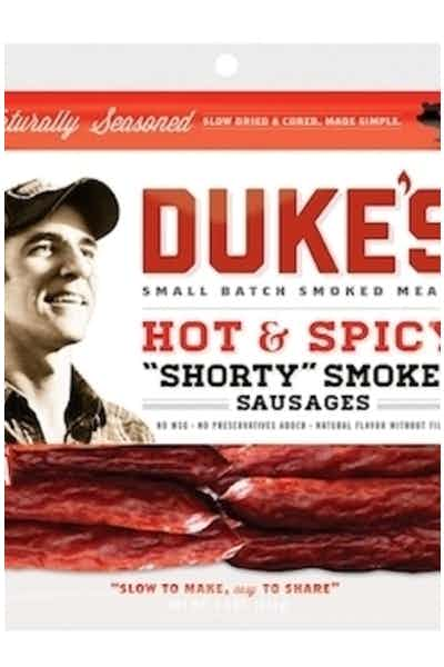 Duke's  Hot & Spicy Shorty Smoked Sausage