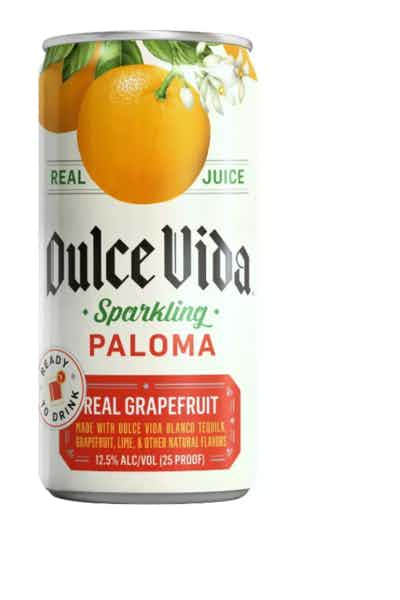 Dulce Vida Tequila Sparkling Paloma - Ready To Drink Cans