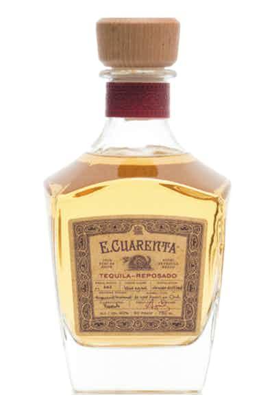 E. Cuarenta Reposado Tequila