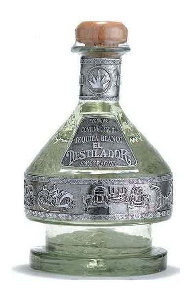 El Distillador Artesanal Blanco Tequilla