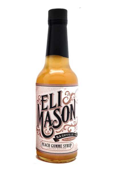 Eli Mason Peach Simple Syrup