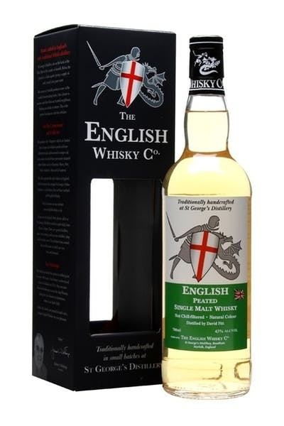 English Whisky Company Peated