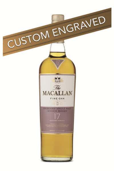 * ENGRAVED The Macallan 17 Year Fine Oak