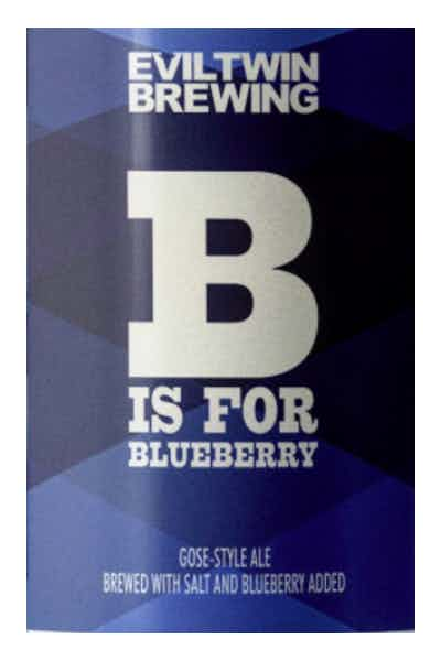 Evil Twin B Is For Blueberry Gose