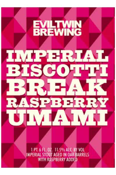 Evil Twin Imperial Biscotti Break Raspberry Umami