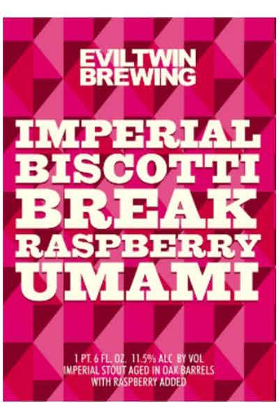 Evil Twin Imperial Biscotti Break Raspberry Umami