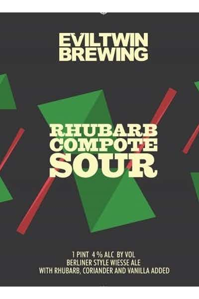 Evil Twin Rhubard Compote Sour