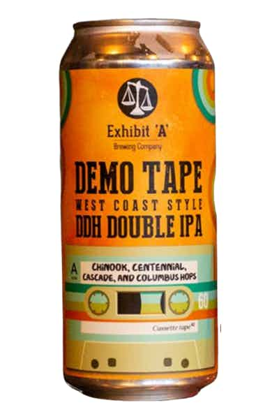 Exhibit A Demo Tape West Coast Style Double IPA
