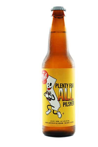 Fall Brewing Plenty For All Pilsner
