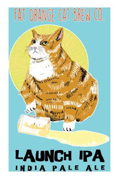 Fat Orange Cat Launch IPA