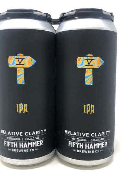 Fifth Hammer Brewing Relative Clarity IPA