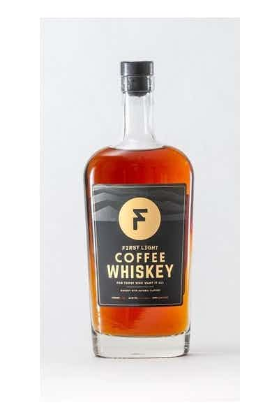 First Light Dark Roast Coffee Whiskey