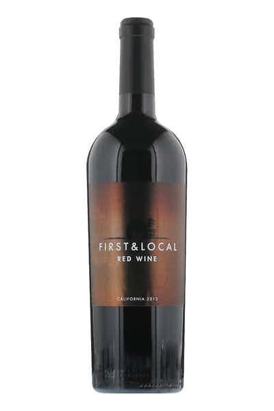 First & Local Red Wine