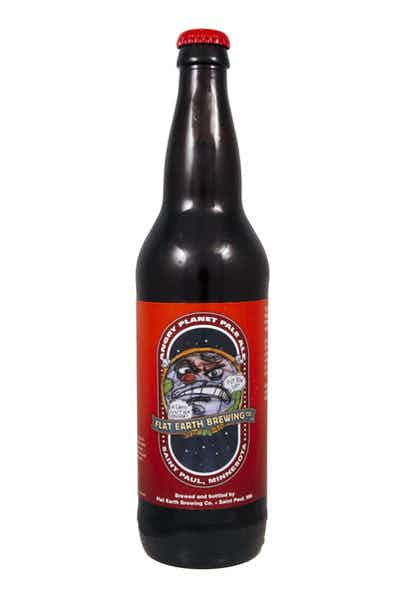 Flat Earth Angry Planet Pale Ale