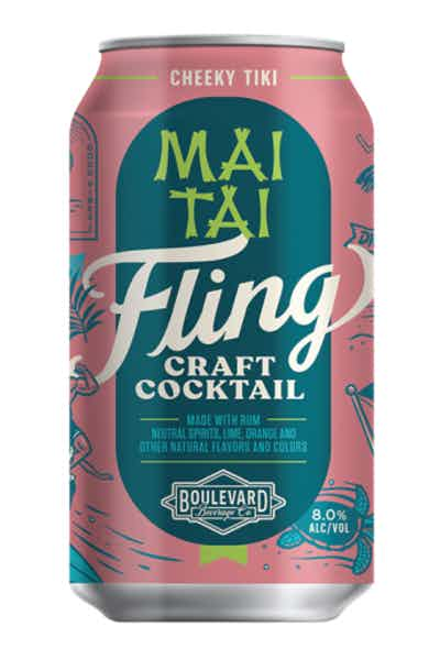 Fling Craft Cocktails Mai Tai