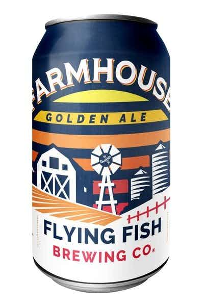 Flying Fish Farmhouse Golden Ale