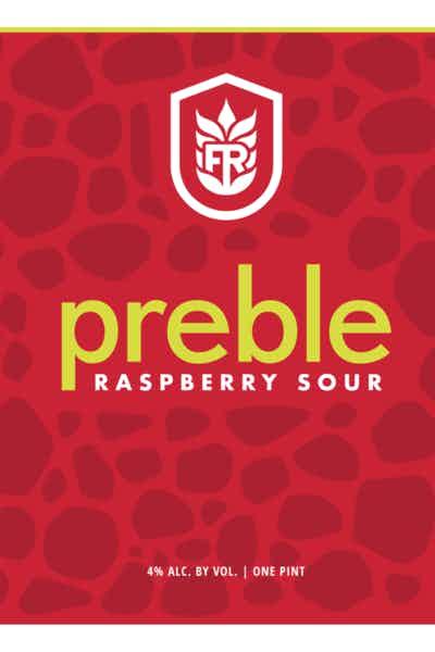 Fore River Brewing Co. Preble Raspberry Sour