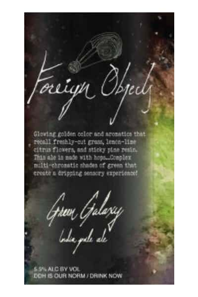 Foreign Objects Green Galaxy