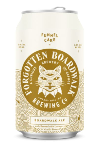 Forgotten Boardwalk Funnel Cake Boardwalk Ale