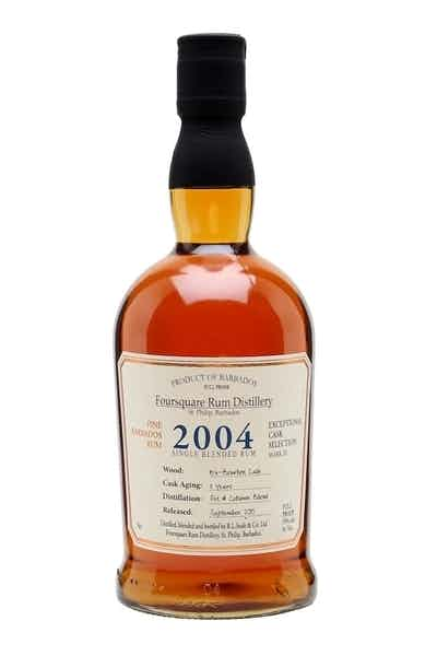 Foursquare 2004 Cask Strength Single Blended Rum