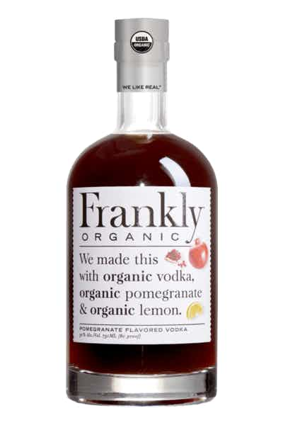 Frankly Organic Pomegrade Vodka