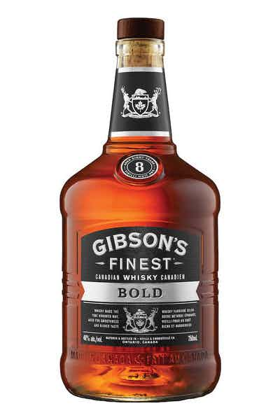 Gibsons Finest Bold Canadian Whiskey 8 Year